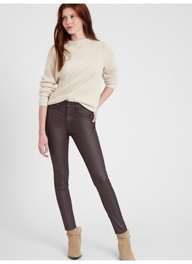 Banana Republic High-Rise Skinny Jean Pantolon Siyah